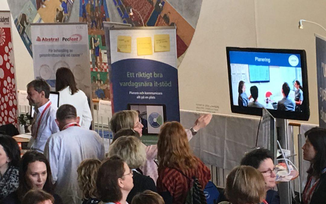 Härlig energi på Palliativa Konferensen