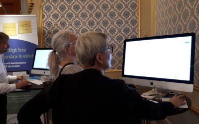 Möte med sjuksköterskor för palliativ omvårdnad